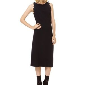 NWT Aritzia Wilfred Black Midi dress sz 4~$165